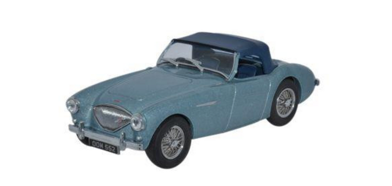 Oxford Diecast O Austin Healey 100 BN1 Blue