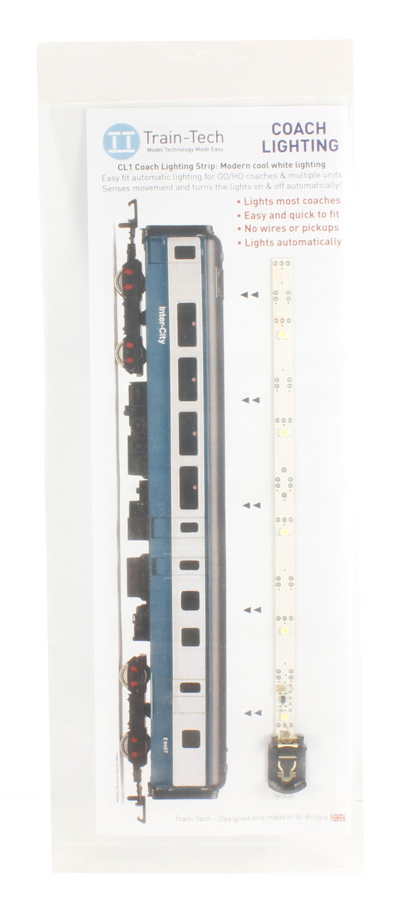 Train Tech OO Coach Lighting Strip CL1