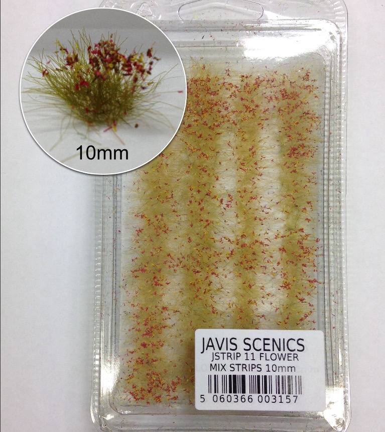 Javis Flower Mix Strips 10mm - JSTRIP11
