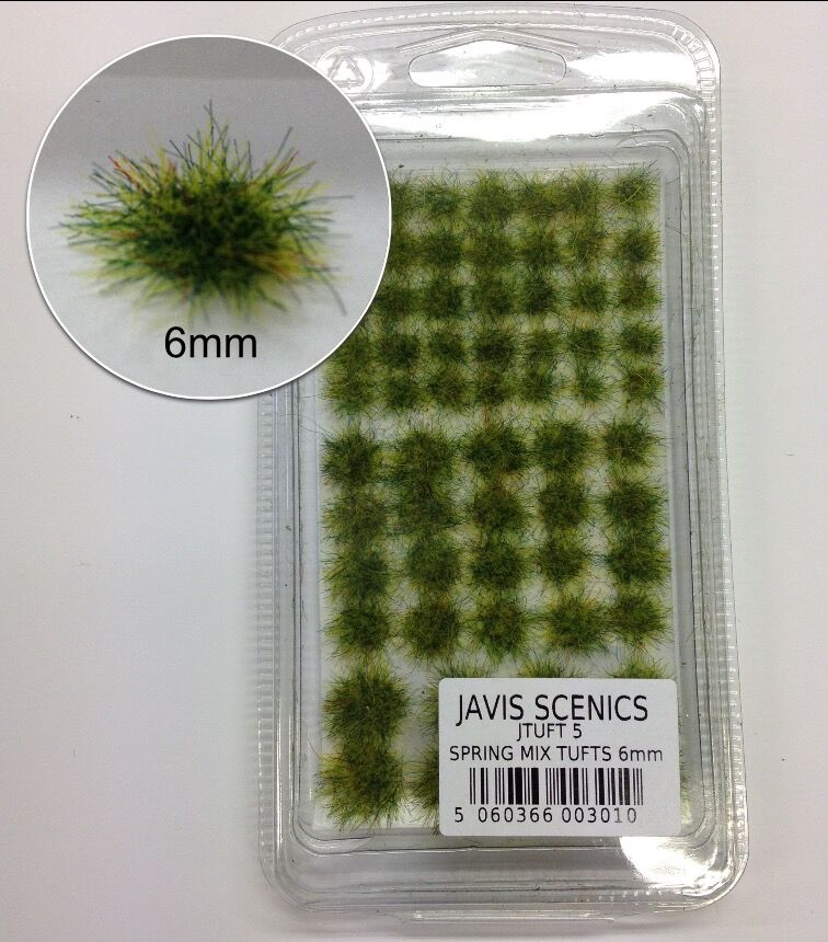 Javis Spring Mix Tufts 6mm - JTUFT5