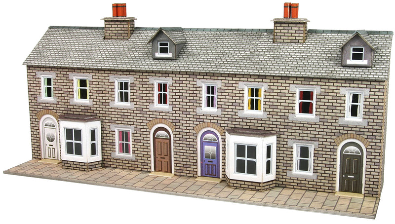 Metcalfe Low Relief Stone Terraced House Fronts