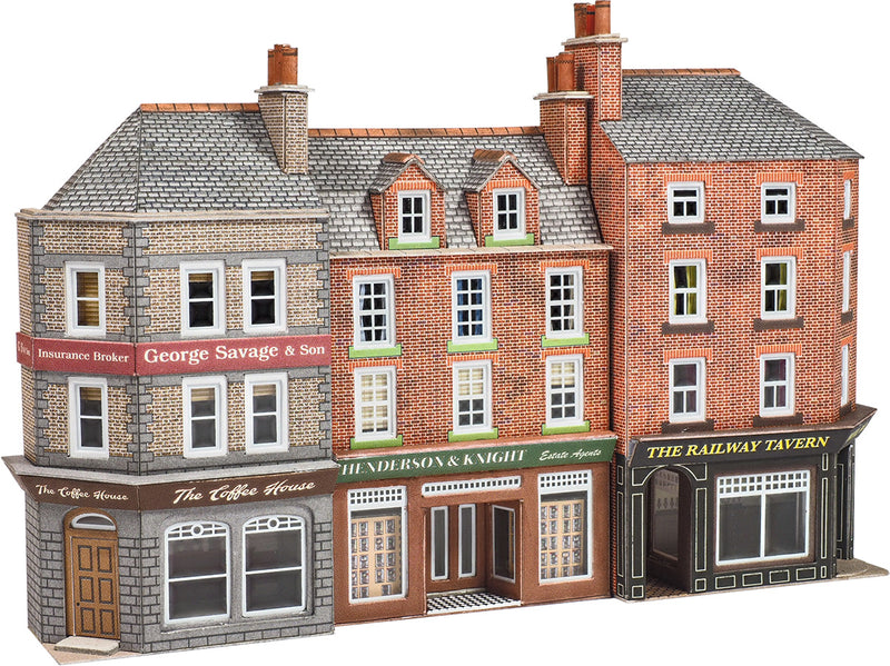 Metcalfe Low Relief Pub & Shops