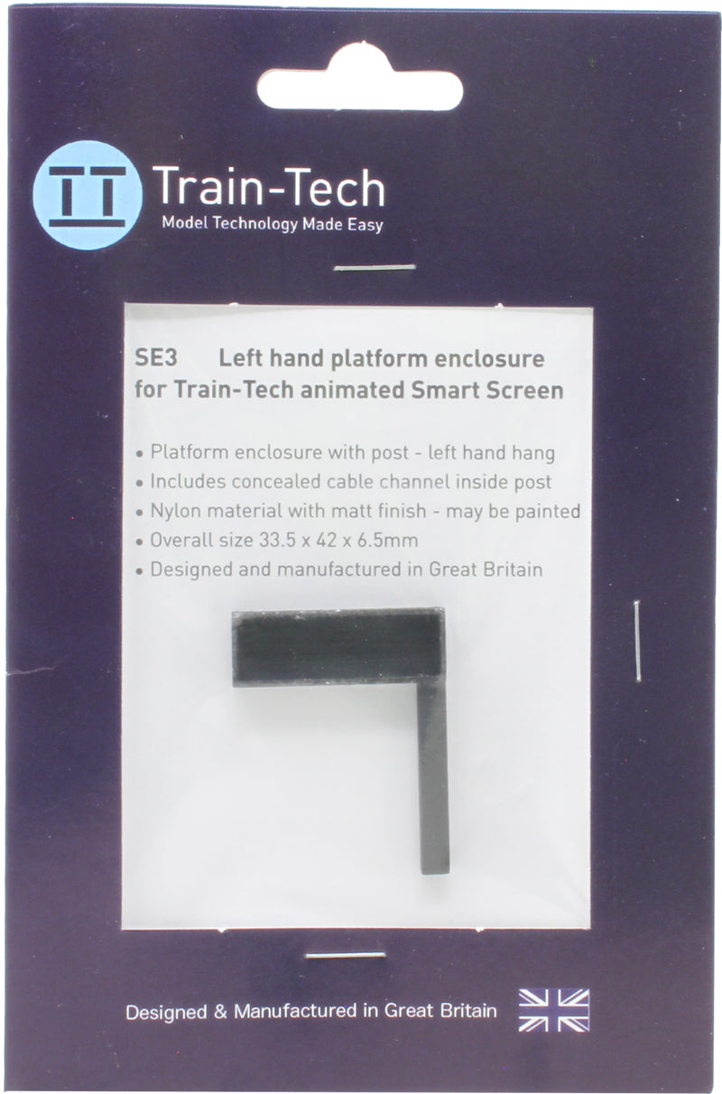 Train Tech Smart Screen LH Platform Enclosure SE3