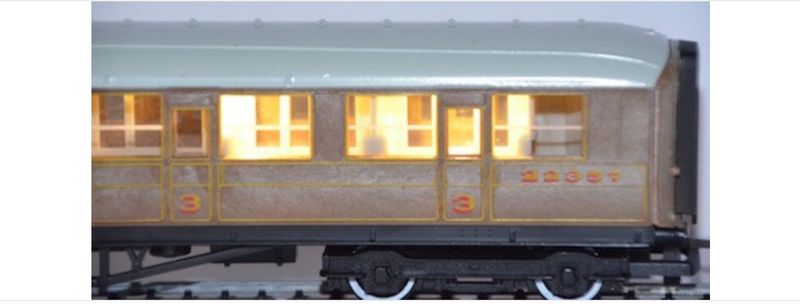 Train Tech N Coach Lighting Strip CN2