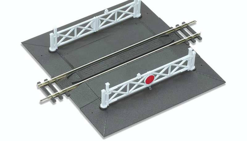 Peco OO ST-268 Straight Level Crossing Unit