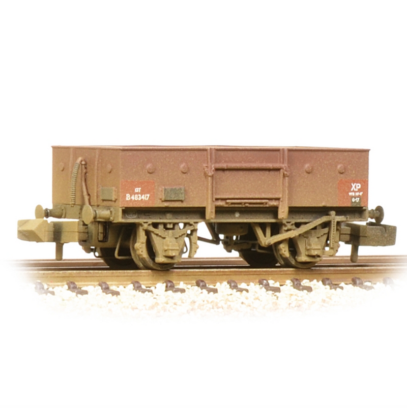 Graham Farish N LNER 13T Steel Open With Chain Pockets BR Bauxite - 377-955