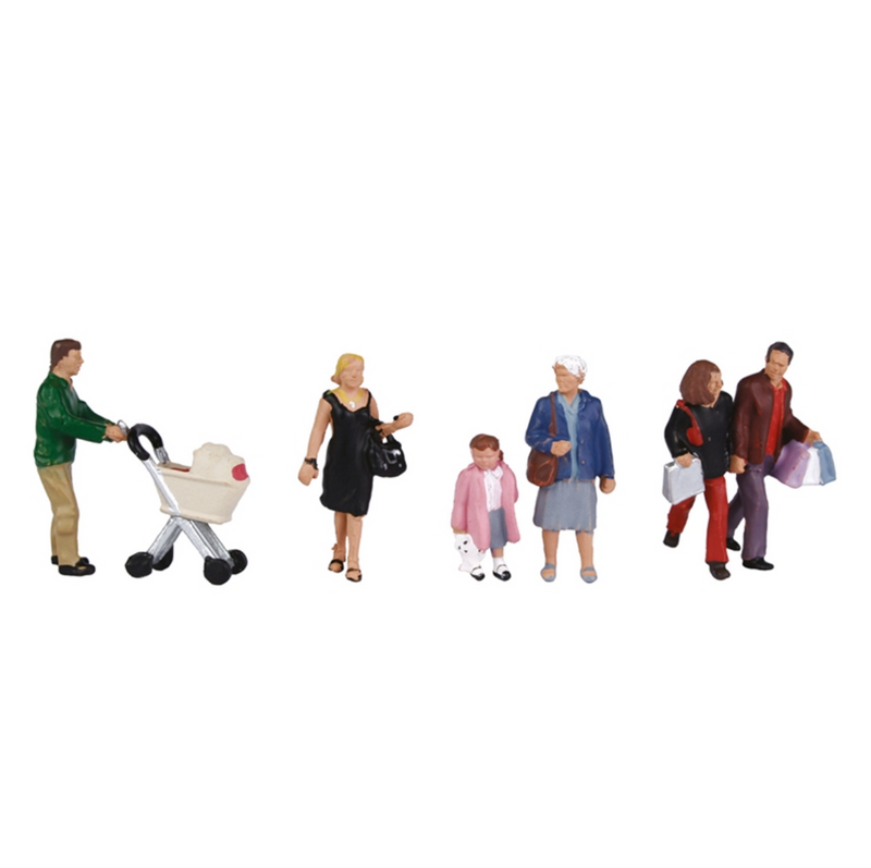 Bachmann OO Shopping Figures - 36-046