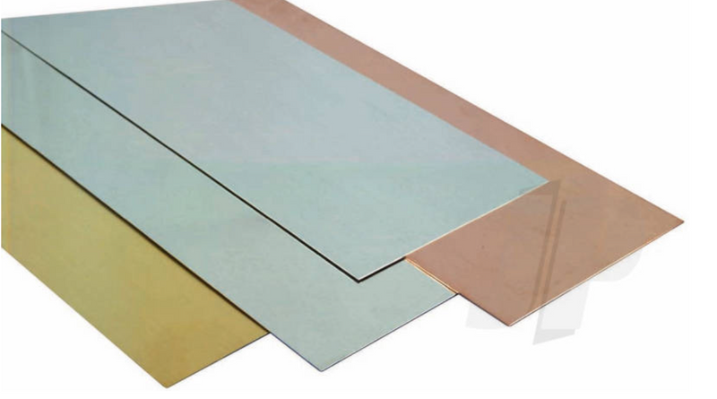 K&S 252 Brass Sheet .015