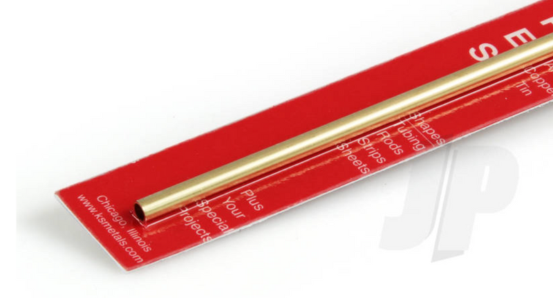 K&S 8129 Round Brass Tube 3/16