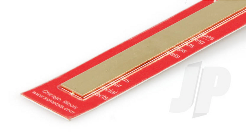 K&S 8246 Brass Strip .64 x 1/2