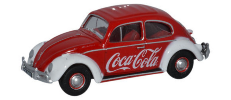Oxford Diecast OO VW Bettle Coca Cola