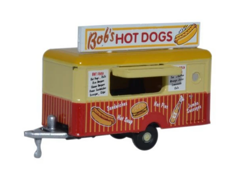 Oxford Diecast N Mobile Trailer Bobs Hot Dogs