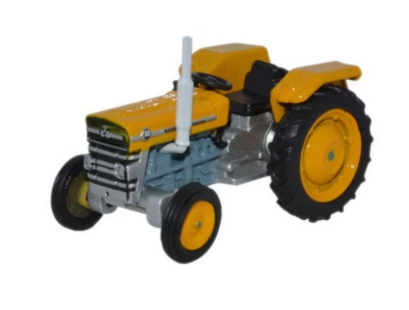 Oxford Diecast OO Massey Ferguson 135 Open Yellow