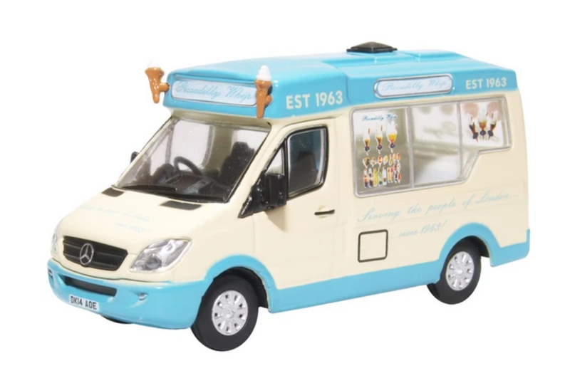 Oxford Diecast OO Whitby Ice Cream Van