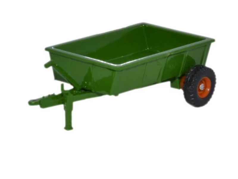 Oxford Diecast OO Farm Trailer Green