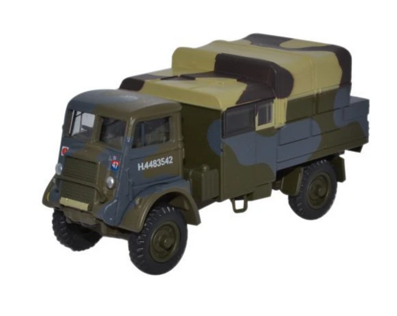 Oxford Diecast OO Bedford QLB 4th Infantry UK 1942