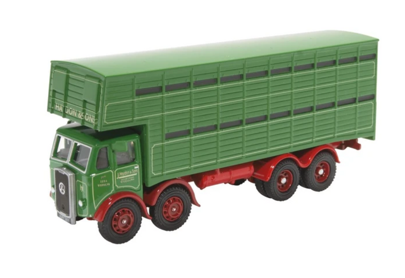 Oxford Diecast OO Atkinson 8 Wheel Cattle Truck J Haydon & Sons