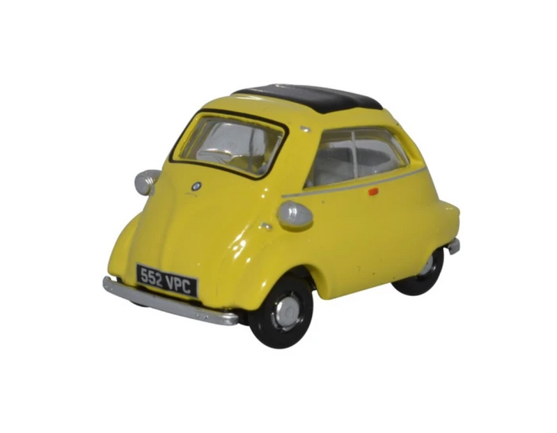 Oxford Diecast OO BMW Isetta Yellow