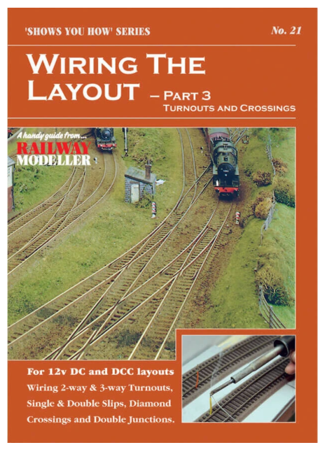 Shows you how No.21 Wiring the Layout Part 3 Turnouts & Crossings
