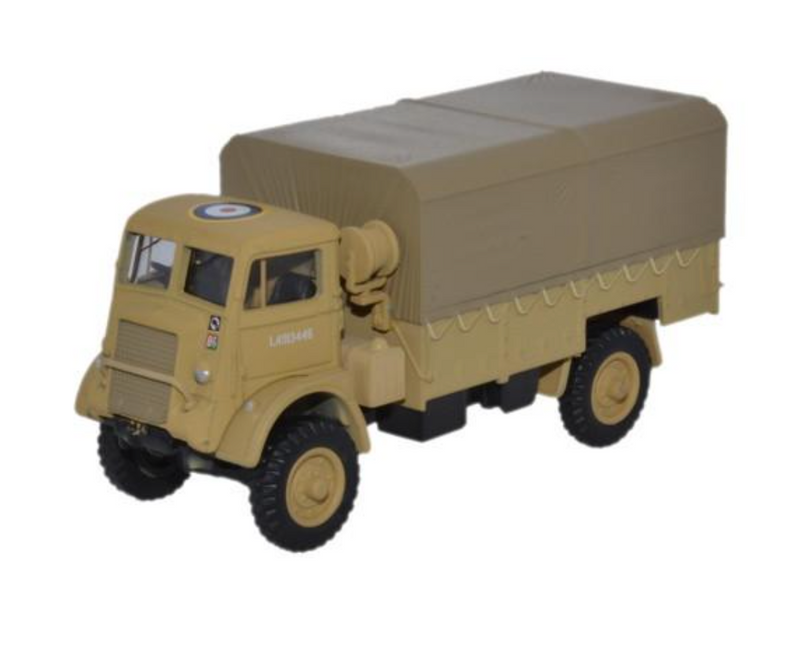 Oxford Diecast OO Bedford QLD RASC 30 Corps 8th Army