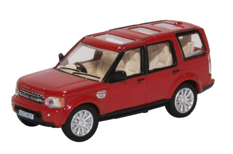 Oxford Diecast OO Land Rover Discovery 4 Firenze Red