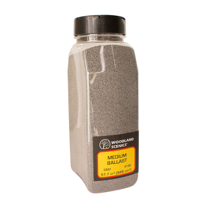 Woodland Scenics Medium Ballast Gray - B1382