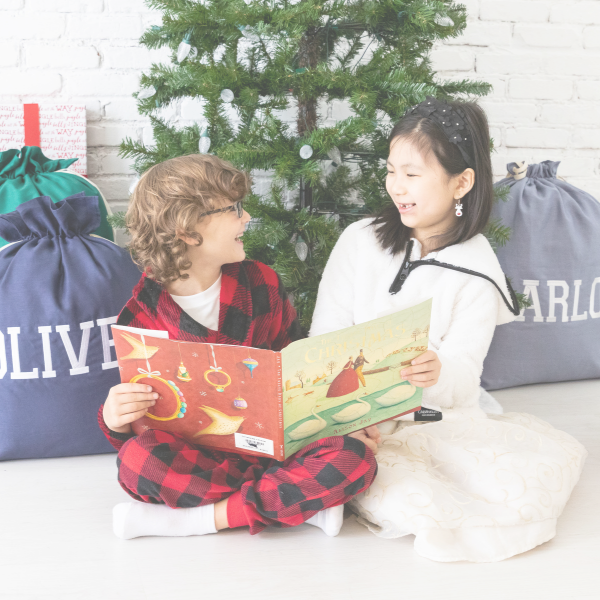Keepsack Co. has a new look and feel! Start your new family Christmas tradition today when you personalize your Santa Sack.