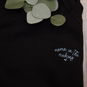 Mama in the Making Embroidered Shirt for Women