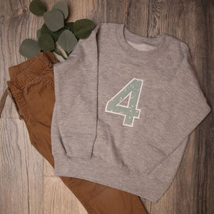 Personalized Birthday Sweatshirts for Kids