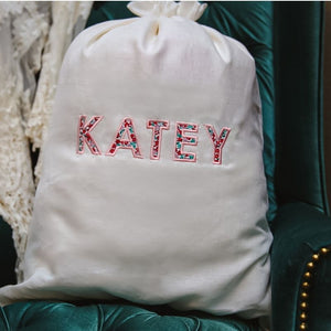 Personalized Gift Bags with Name: White Night