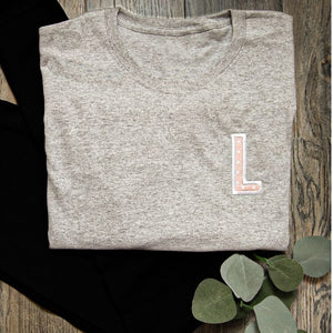 Personalized Initial Shirt for Women