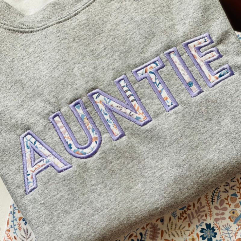 Personalized Mother's Day Gift for Grandma Embroidered Shirt