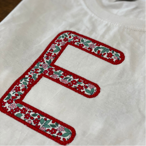 Personalized Initial T-Shirt for Kids
