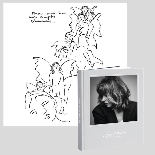Pack collector | CD collector livre disque 24 pages + 1 dessin de Jane Birkin