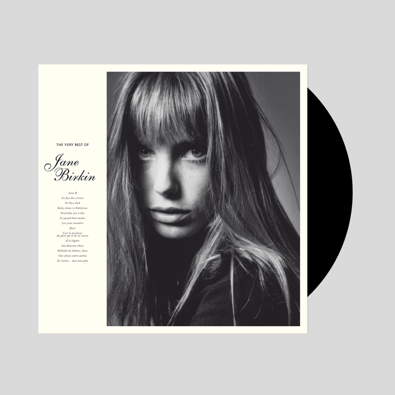 THE VERY BEST OF JANE BIRKIN VINYLE