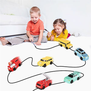 Inductive Train Fine Motor Training