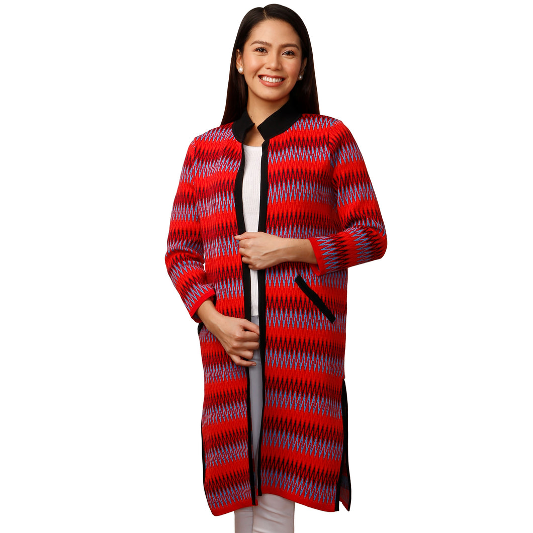 EMI'S COAT MULTI IKAT