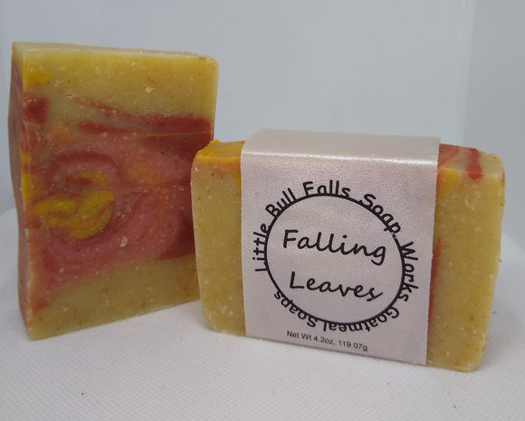Falling Leaves Goat Milk Soap