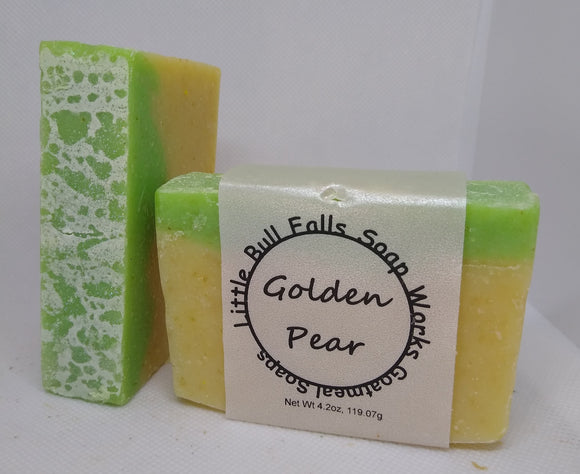 Golden Pear Goat Milk Soap