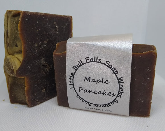 Maple Pancakes Goat Milk Soap