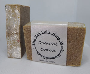 Oatmeal Cookie Goat Milk Soap