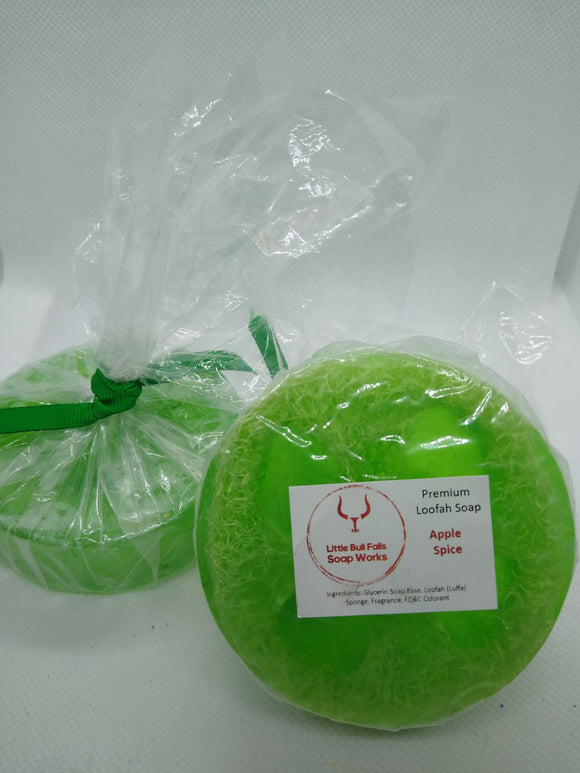 Luffa Soap - Apple Spice