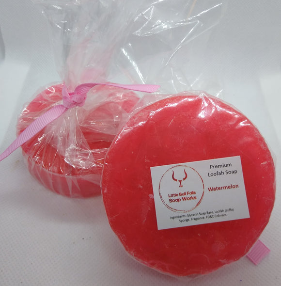 Luffa Soap - Watermelon