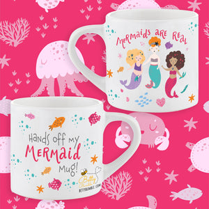 Childs Smug Mug - Mermaids