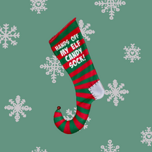 Load image into Gallery viewer, Xmas Stocking - Elf Candy Sock