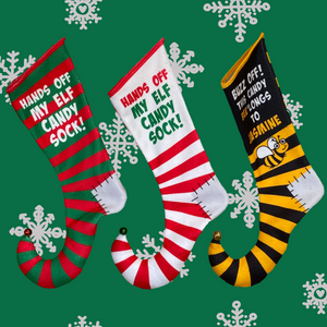 Xmas Stocking - Elf Candy Sock