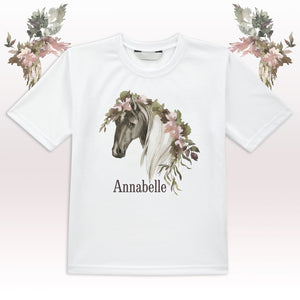 T Shirt - (Personalised) - Horse Lovers