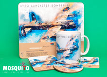 Load image into Gallery viewer, Coaster & Placemat Set - Lancaster Bomber