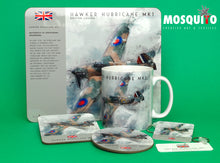 Load image into Gallery viewer, Coaster & Placemat Set - Hawker Hurricane