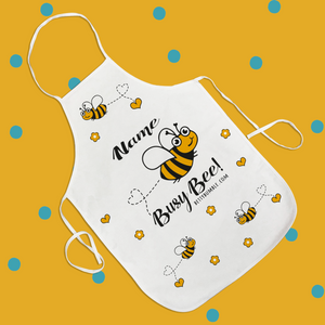 Busy Bee Apron (Personalised with Pockets)